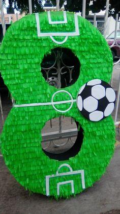 first birthday decorations ideas Soccer Birthday Cakes, Birthday Pinata, Football Birthday, Baby Boy Birthday, Soccer Party, Toy Story Birthday, Toy Story Party, Birthday Diy, Mickey Mouse Parties