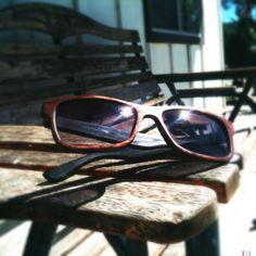 Sire's Crown wood glasses - the Dylan Thomas in Waterfall Bubinga :)))
