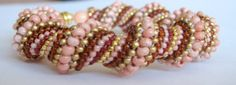 pink, topaz and gold - love it!