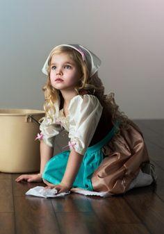 Girls Storybook Princess Day Dress