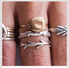 Fancy rings