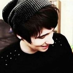 Dan Howell in a beanie.....you're welcome