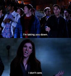 Scary much -- Anna Kendrick and Skylar Astin in Pitch Perfect