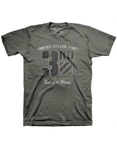 eed2244f6f2830 Men s Army T-Shirt - US Army 3rd Infantry - Retro