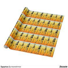 Egyptian Wrapping Paper  #Egyptian #Egypt #Hieroglyphics #WrappingPaper #GiftWrap