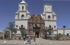San Xavier del Bac Mission, AZ