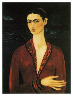 Frida Kahlo Self Portrait in a Velvet Dress 1926 print for sale. Shop for Frida Kahlo Self Portrait in a Velvet Dress 1926 painting and frame at discount price, ships in 24 hours. Cheap price prints end soon. Diego Rivera, Frida E Diego, Frida Art, Frida Kahlo Artwork, Arte Latina, Kahlo Paintings, Quote Paintings, Mexican Artists, Wow Art