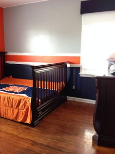 detroit tigers baseball room in progress boy 39 s bedroom a small