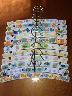 Baby Hangers Craft For A Shower From Dianne Massie Goose More