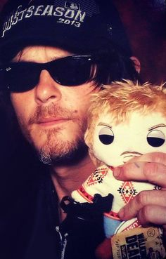 Norman with mini me