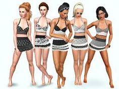 Afbeeldingsresultaat voor sims 3 badkleding