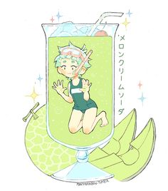 I tried Melon Soda and loved it   ✨