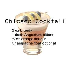Chicago Cocktail | 10 Awesome Mob Cocktails
