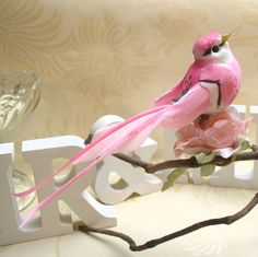 Artificial Feather Birds Artificial Birds, Feather Birds, Decorative Birds, White Doves, Wedding Doves and Bird Cages - for your wedding and home...