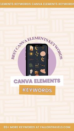 85+ Canva Elements Keywords for Aesthetic Designs: The Ultimate List | Fallon Travels