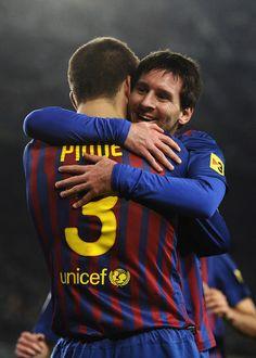 Lionel Messi & Gerard Piqué