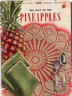 Pineapple Wheel Doily pattern | wonder what how this would be worked up in worsted weight yarn? Lap throw maybe?