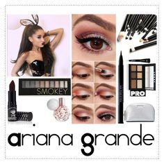 """""""Make up Ariana Grande"""" by alejandra-rodriguez-villalpando on Polyvore featuring beauty, M.A.C, Manic Panic, Forever 21, Urban Decay, LORAC and MICHAEL Michael Kors"""