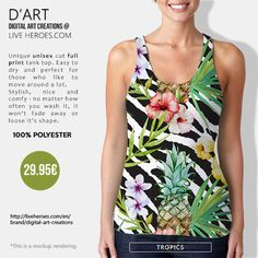 #wild #nature #jungle #fruits #pineapple #orchids #flowers #floral # natural #wilderness #zebra #zebrastripes #plants #leaves #tropical #trendy #stylish #diva #tanktop #unisex #liveheroes #liveheroeshop #digitalartcreations