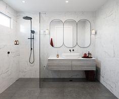 Bathroom Renos, Laundry In Bathroom, Bathroom Renovations, Small Bathroom, Bathroom Layout, Modern Bathroom Design, Bathroom Interior Design, Hampton Style Bathrooms, Upstairs Bathrooms