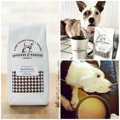 Seriously good coffee + 20% donated to animal rescue groups. Win, Win. @groundsandhound   *Featured in Lola the Pitty's Holiday Gift Guide for Dog Lovers - Grounds & Hounds Coffee