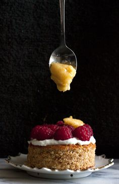 Wholemeal Honey and Vanilla Sponge