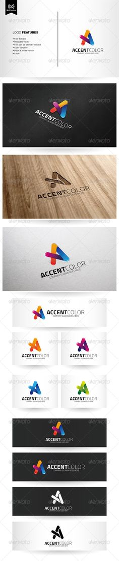 Colorful Letter A - Logo Design Template Vector #logotype Download it here: http://graphicriver.net/item/colorful-letter-a-logo/6449849?s_rank=1210?ref=nesto