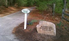 First road in America, Plymouth, MA