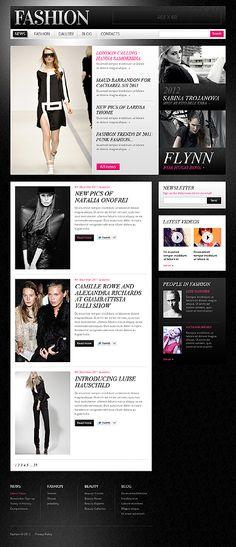 Fashion Brand Drupal Templates by Mercury