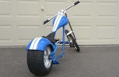 Mini Chopper, Chopper Bike, Super Bikes, Custom Trikes, Push Bikes, Custom Cycles, Cruiser Bicycle, Fat Bike, Bike Design