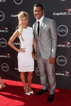 russell wilson wife | Russell Wilson and Wife at the ESPY's | Terez Owens
