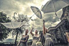 castello di rosciano, wedding in the rain.
