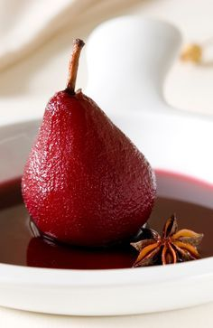 Recipe: Port Poached Pears - Taylor's