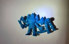 M.U.S.C.L.E Men Figure Blue Satan Cross D  Still Attached Male Figure, Muscle Men, Satan, Hanukkah, Blue, Decor, Muscular Men, Decoration, Muscle Bear