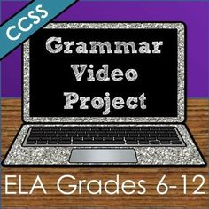 Students become TEACHERS as they make their own instructional grammar videos that YOU can use all year long!