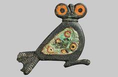 Rare Bronze Owl Brooch Found on Danish Island : Discovery News