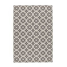 Iswik Flat-Weave Rug with Cement Tile Motif LA REDOUTE INTERIEURS An original design in sophisticated, neutral colours. Designed to make a bold style statement in any style of home ! Sisal, Balkon Design, Outdoor Rugs, Indoor Outdoor, Outdoor Sofa, Cheap Rugs, 230, Dust Mites, Interior Exterior