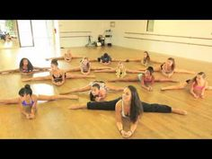 Contemporary online class.  Has a good stretch routine!