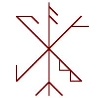 Craft Bind Rune Witch Symbols, Rune Symbols, Mayan Symbols, Religious Symbols, Viking Symbols, Egyptian Symbols, Viking Runes, Ancient Symbols, Rune Tattoo