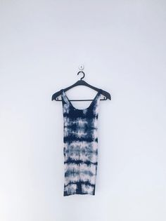 indigo tie-die shirt by UFABRIQUE on Etsy #indigo #tiedye
