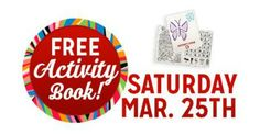 FREE Activity Book @ Kmart on 3/25 for the first 100 kids 12 & younger! Freebie Saturdays make shopping fun again! Find the nearest store here If you love Freebies, Deals, Sweeptstakes and Instant Win Games, Join my group! Megan's Freebies and Deals Share This: