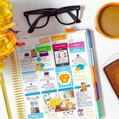 Happy Espresso Day! I'm celebrating with pumpkin bread, an espresso roast, and last week in my #ECLP. ☕️ #paperandglam #plannercommunity #fall #espresso #coffee #pumpkinbread