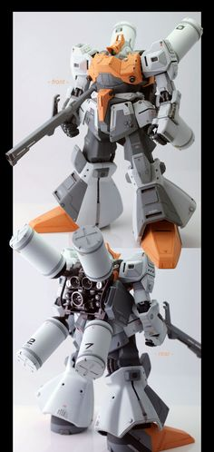 Master Grade 1/100 Rick Dias   Very well done, wish I was good at models ~dusty~