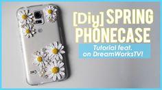 Polymer Clay Spring Phone Case (DIY on DreamWorksTV)