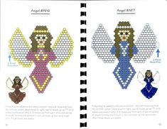 brick stitch angel patterns