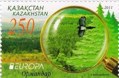 2011 - Kazakhstan. Year of the Forest.
