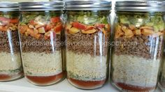 Have I ever told you how much  I LOVE THRIVE ? :)    I just made these  Meals in a Jar , and they are amazing! Now I have 40 quick and...