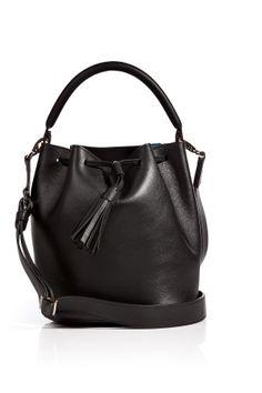 LeatherVaughanCrossbodyPouchBagfromANYAHINDMARCH | Luxury fashion online | STYLEBOP.com