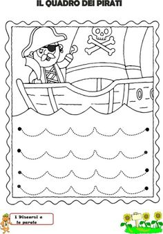 Ejercicios de grafomotricidad Preschool Writing, Preschool Curriculum, Preschool Printables, Preschool Lessons, Preschool Worksheets, Kindergarten Activities, Preschool Activities, Pirate Activities, Craft Activities For Kids