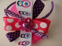 Babushka flower party colors headband.  http://www.etsy.com/listing/83997704/headband-handmade-babushka-party?ref=v1_other_1